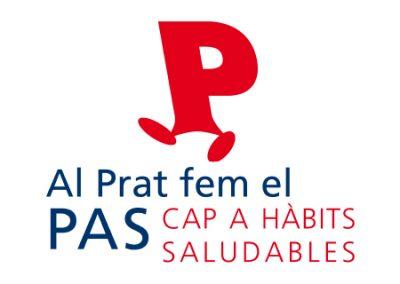 diseño de logotipos El Prat de Llobregat LOGO FEM EL PAS