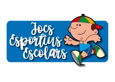 diseño de logotipos El Prat de Llobregat LOGO JOCS ESCOLARS