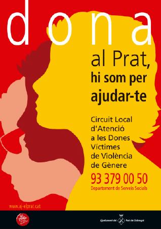 Diseño grafico El Prat de Llobregat-cartel DONA