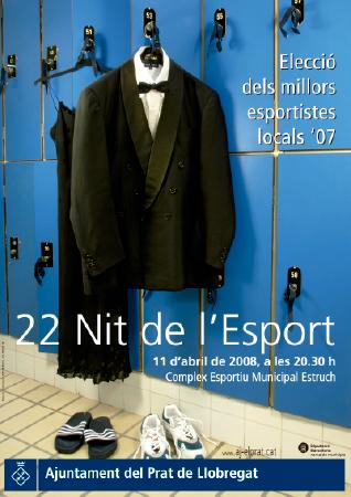 Diseño grafico El Prat de Llobregat-cartel NIT ESPORT