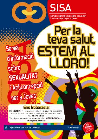 Diseño grafico El Prat de Llobregat-cartel SISA
