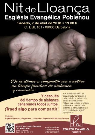 Diseño grafico El Prat de Llobregat-cartel IGLESIA POBLENOU