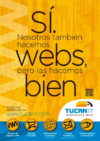 Diseño grafico El Prat de Llobregat-cartel TUCAN IT