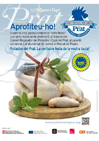 Diseño grafico El Prat de Llobregat-cartel POLLASTRE I CAPO DEL PRAT