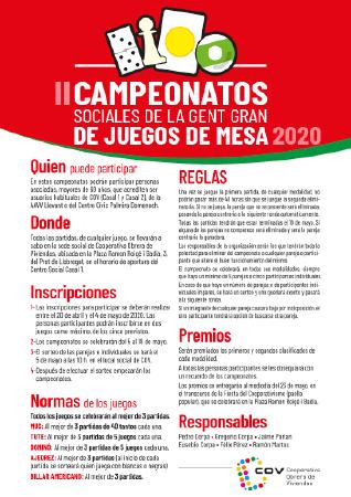 Diseño grafico El Prat de Llobregat-cartel CAMPEONATOS JUEGOS MESA