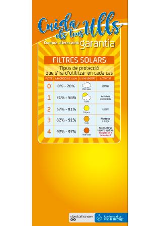 Diseño grafico El Prat de Llobregat-cartel GAFAS SOL