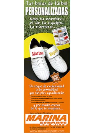 Diseño grafico El Prat de Llobregat-cartel MARINA ESPORTS