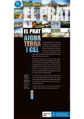 Diseño grafico El Prat de Llobregat-cartel EXPOSICION HOSPITAL BELLVITGE