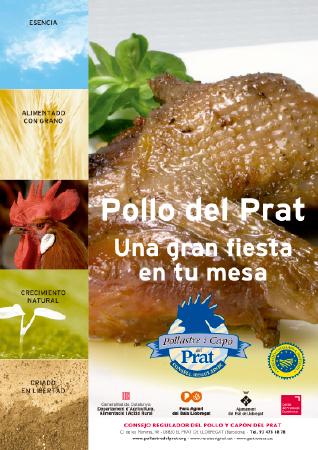 Diseño grafico El Prat de Llobregat-cartel POLLASTRE DEL PRAT