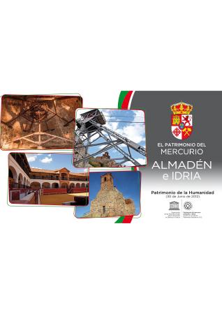 Diseño grafico El Prat de Llobregat-cartel ALMADEN PATRIMONIO HUMANIDAD