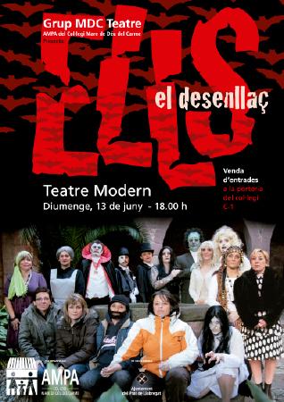 Diseño grafico El Prat de Llobregat-cartel OBRA TEATRO ELLS