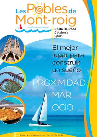 Diseño grafico El Prat de Llobregat-cartel LES POBLES DE MONTROIG