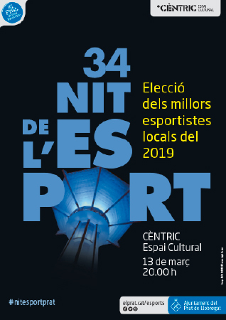 Diseño grafico El Prat de Llobregat-cartel NIT ESPORT 2020