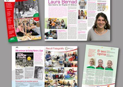Diseño de revistas en el Prat de Llobregat - REVISTA COOPRAT DE COV