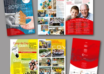 Diseño de revistas en el Prat de Llobregat - REVISTA PROGRAMA COV