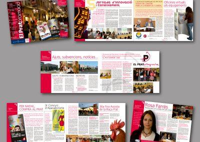 Diseño de revistas en el Prat de Llobregat - REVISTA EL PRAT PROMOCIO