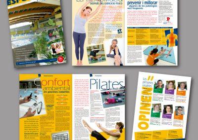 Diseño de revistas en el Prat de Llobregat - REVISTA ESPORT ES PRAT