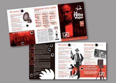 Diseño de folletos en el Prat de Llobregat - FOLLETO FERRAN PUIG