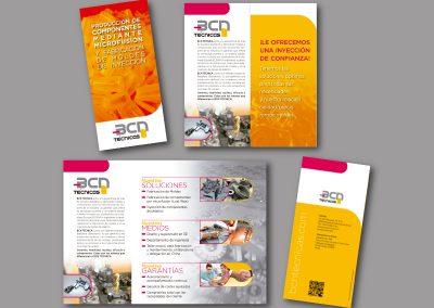 Diseño de folletos en el Prat de Llobregat - FOLLETO BCN TECNICA
