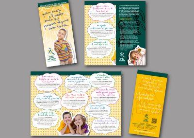 Diseño de folletos en el Prat de Llobregat - FOLLETO COLEGIO MARE DE DEU DEL CARME