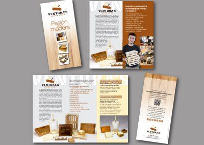 Diseño de folletos en el Prat de Llobregat - FOLLETO VENTURAS