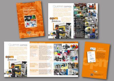 Diseño de folletos en el Prat de Llobregat - FOLLETO OPM