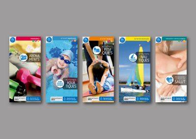 Diseño de folletos en el Prat de Llobregat - FOLLETOS ACTIVIDADES DEPORTIVAS