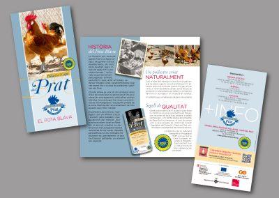 Diseño de folletos en el Prat de Llobregat - FOLLETO CONSELL REGULADOR POLLASTRE