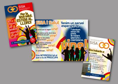 Diseño de folletos en el Prat de Llobregat - FOLLETO SISA