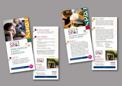 Diseño de folletos en el Prat de Llobregat - FOLLETO SPAI