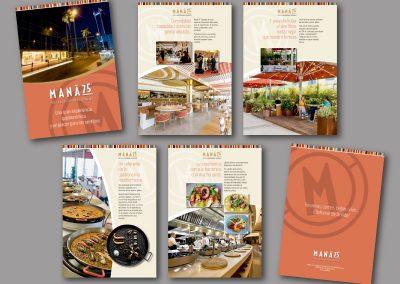 Diseño de folletos en el Prat de Llobregat - FOLLETO MANA 75