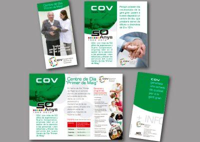 Diseño de folletos en el Prat de Llobregat - FOLLETO CENTRO DE DIA