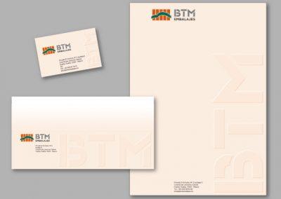 Diseño imagen corporativa El Prat de Llobregat - IMPRESOS COMERCIALES BTM