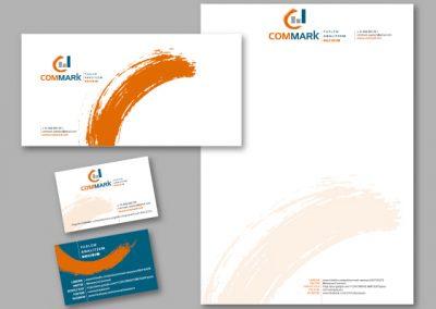 Diseño imagen corporativa El Prat de Llobregat - IMPRESOS COMERCIALES COMMARK