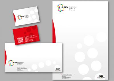 Diseño imagen corporativa El Prat de Llobregat - IMPRESOS COMERCIALES COV