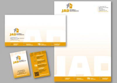 Diseño imagen corporativa El Prat de Llobregat - IMPRESOS COMERCIALES JAD REFORMAS