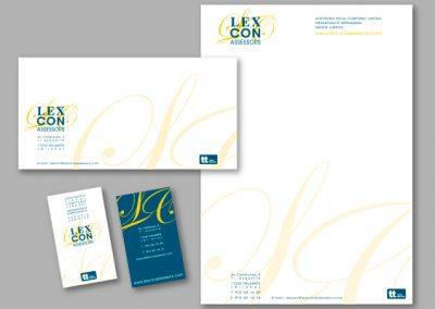 Diseño imagen corporativa El Prat de Llobregat - IMPRESOS COMERCIALES LEXCON