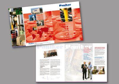 Diseño de folletos en el Prat de Llobregat - FOLLETO PANIKER