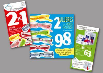 Diseño de folletos en el Prat de Llobregat - FOLLETO TARRAGON
