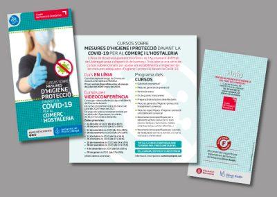 Diseño de folletos en el Prat de Llobregat - FOLLETO COVID